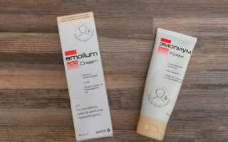 Крем Эмолиум — инструкция, цена и отзывы