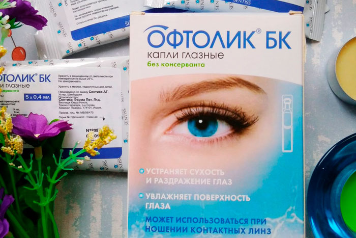 Инструкция по применению глазных капель Натуральная слеза