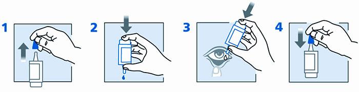 Как применять глазные капли Хило-комод