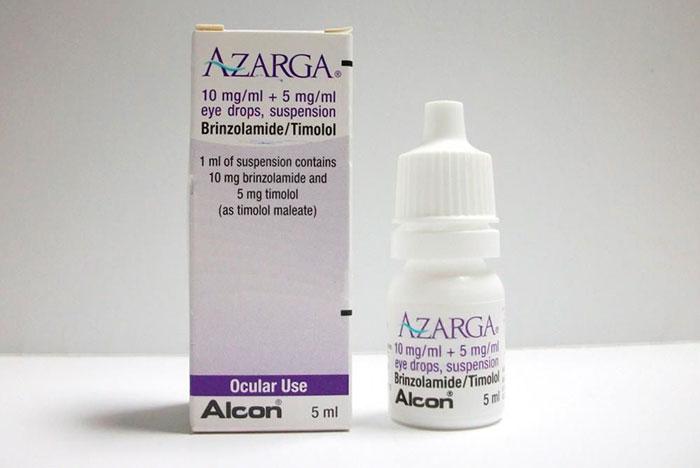 упаковка и флакон капель Азарга