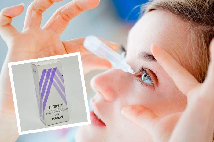 Инструкция по применению глазных капель Бетоптик