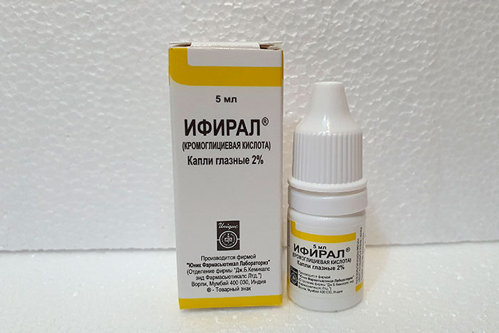 Глазные капли Кромогексал - инструкция по применению и отзывы