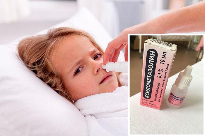 Капли в нос Ксилометазолин: инструкция по применению и отзывы