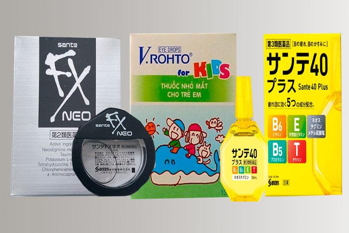 упаковка и флакон витаминных капель