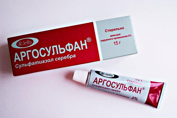 Крем Дермазин - инструкция по применению