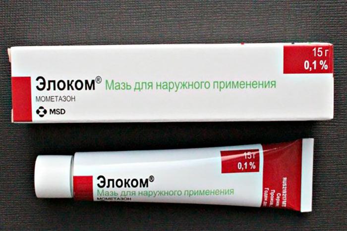 упаковка и тюбик мази Элоком
