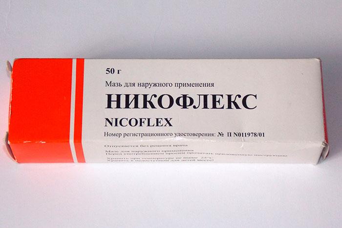 упаковка мази Никофлекс