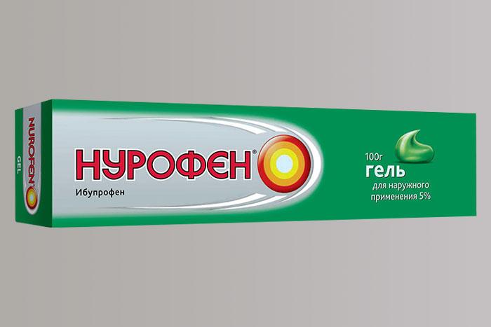 упаковка геля Нурофен