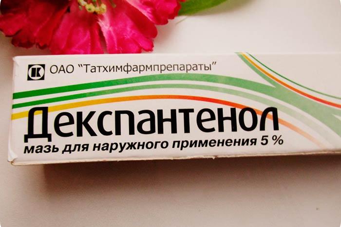 Упаковка и тюбик мази Декспантенол
