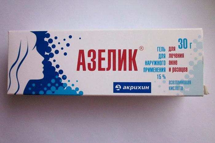 Упаковка геля Азелик