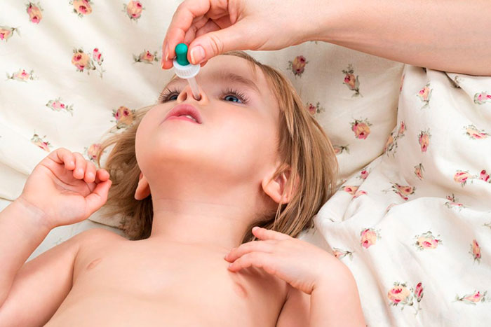 Список эффективных капель в нос для детей